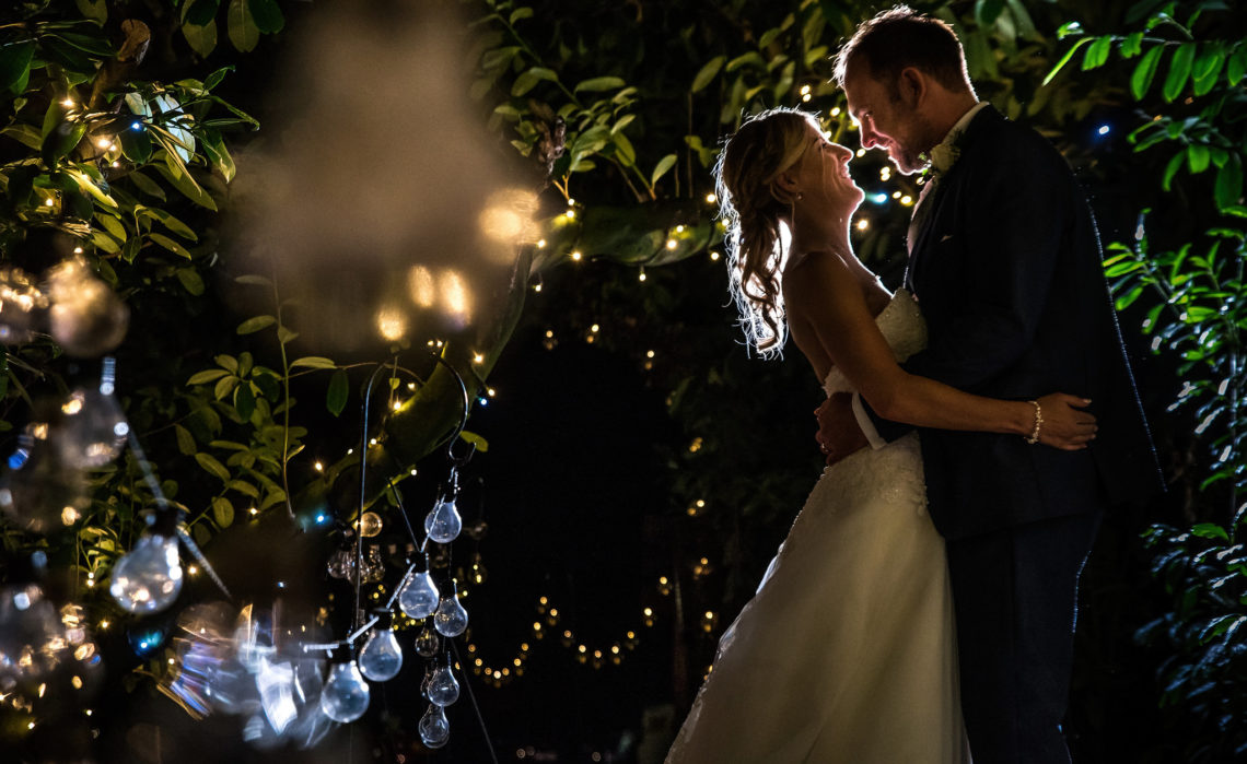 Just married at Lodge Farm wedding venue
