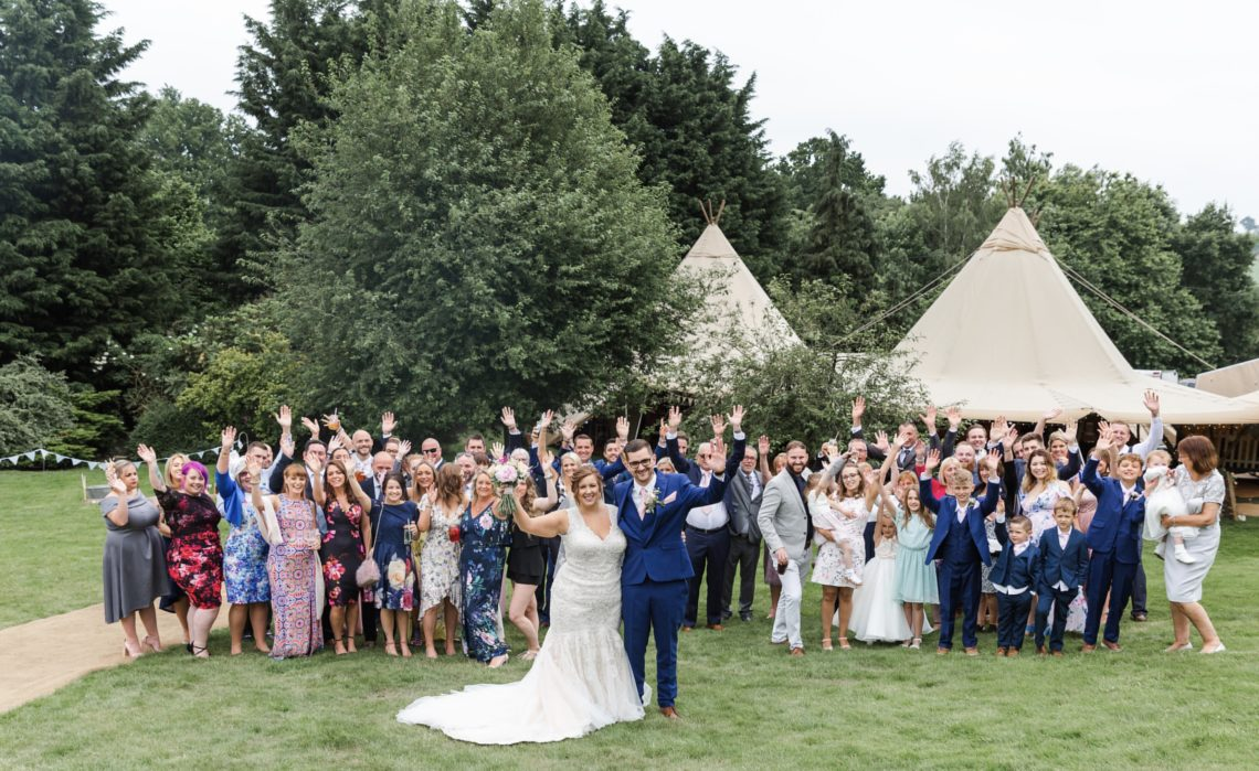 A perfect wedding at Lodge Farm House
